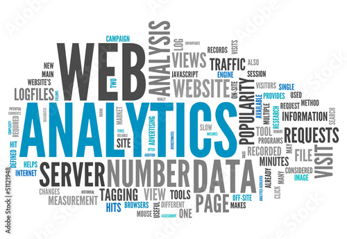 "Word Cloud ""Web Analytics"""