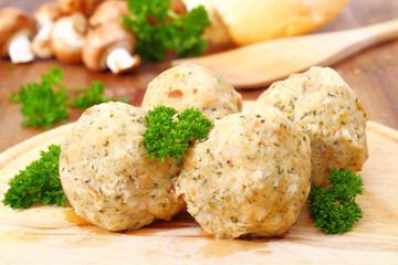 Dumplings - Semmelknödel