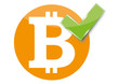 Bitcoin sign accepted