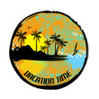 Vacation time grunge stamp