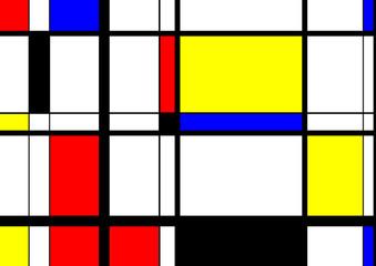 Mondrian Digital Art