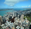 Auckland City & Harbour Aerial, New Zealand