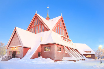 Kiruna Church lapland Sweden