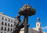 Statue of Bear and strawberry tree - symbol of Madrid