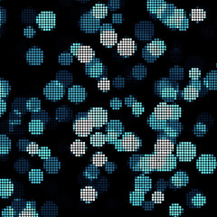 abstract lights disco background. Square pixel mosaic vector