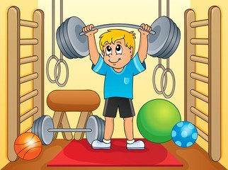 Sport and gym theme 8