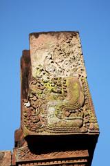 Banteay Srei Verzierung