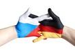 czech and german hands