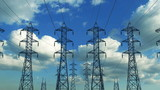 Construction of high voltage towers, loop