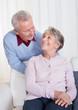 Portrait Of Happy Senior Couple