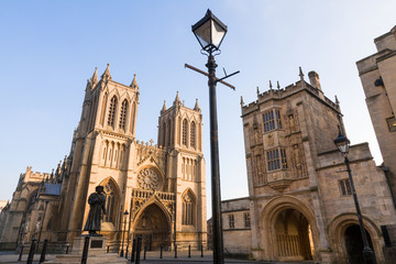 Bristol Cathedral and College Square