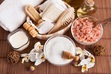 Bathing Spa Kit With Sea Salt