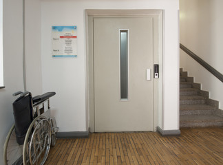 Entrance foyer in medical centre