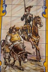 Azulejos, Cerámica del Quijote, cerámica. Talavera, Toledo