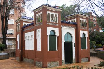 Mezquita, Jardines del Prado de Talavera de la Reina. Toledo