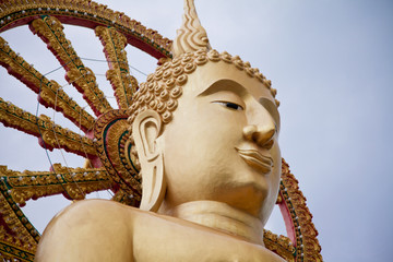 Big Buddha Closeup