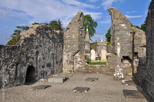 The Annuals of the Four Masters. Donegal Abbey Ruins (Ireland)