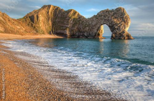 Durdle Dor łuk skalny Dorset Anglia