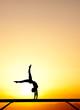 handstand on balance beam