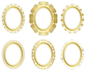 decorative frames - vector set