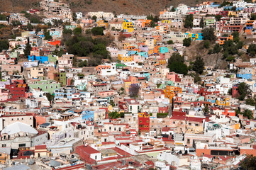 Guanajuato desde el monumento a El Pípila  (México)