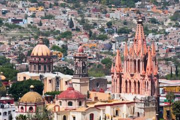 Church of San Miguel Arcangel, San Miguel De Allende (Mexico)