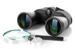 Black Modern Binoculars With M...