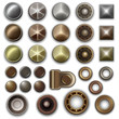Metal accessories collection - vector eps10 - 51138369