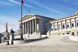 Austrian Parliament building in Vienna