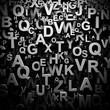 3D letters wallpaper