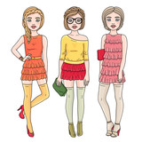 Fashion romantic girls