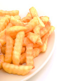 crinkle cut french fries poster