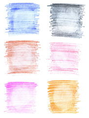 Abstract crayon backgrounds