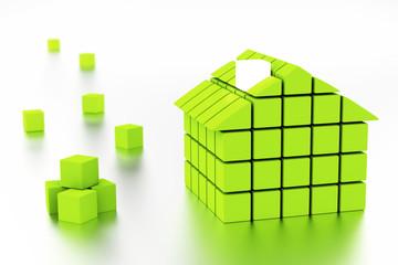 3d Eco House
