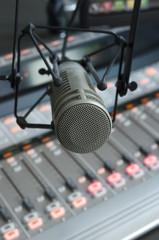 Radio microphone and soundboard