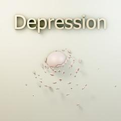 Depression - 3d Render