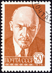 Vladimir Ilyich Lenin (after P. Zhukov) (USSR 1976)