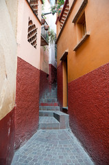 The Alley of the Kiss, Guanajuato (Mexico)