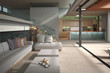 Modern Loft with Living Room | Interior Architecture