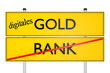 digitals GOLD vs BANK_konzeptionell Finanzsysteme - 3D