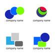 Set - abstract logos