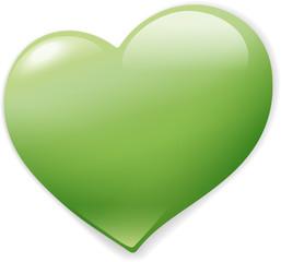 Grünes Herz vector