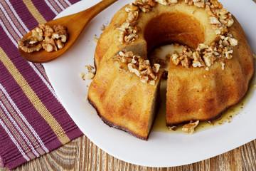 banana fruitcake