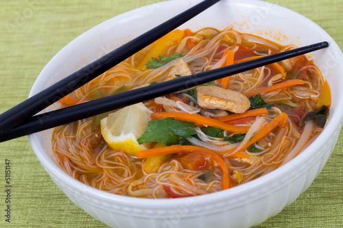 tom yum soup bowl