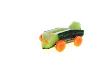 Car of vegetables