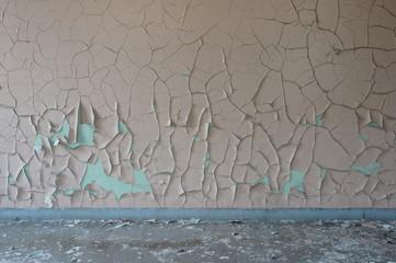 Fassade mit Wasserschaden