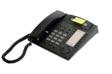 Telefon mit Post It