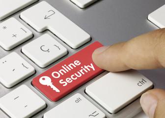 Online security keyboard