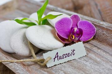 Auszeit mit Orchidee