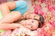 dreaming flower couple